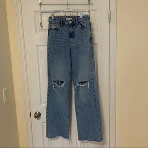 Zara High-Waisted Jeans